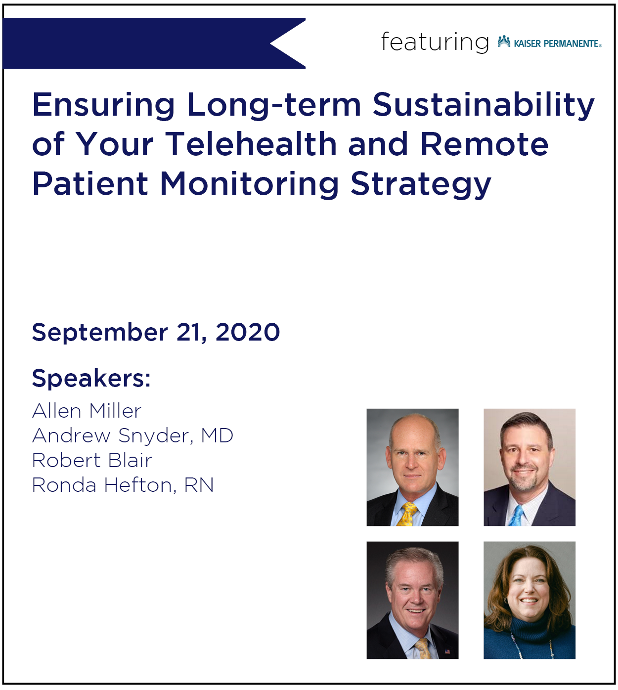Ensuring Long-term Sustainability of Your Telehealth and Remote Patient Monitoring