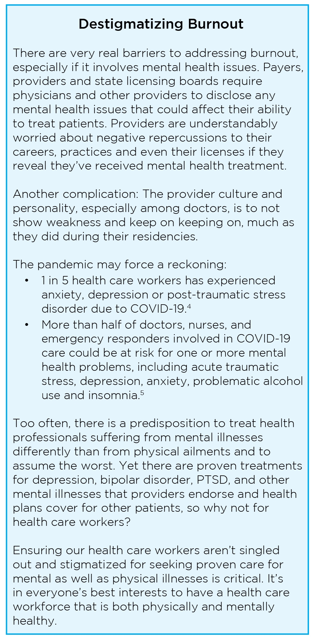 8 Steps to Alleviate Healthcare Worker Burnout From COVID-19 and Beyond